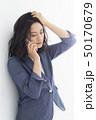 女性 ヘアスタイル ミドルの写真 50170679