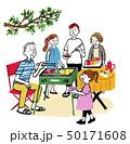 家族でバーベキュー 50171608