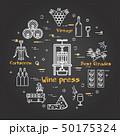 Black banner winemaking - wine press 50175324