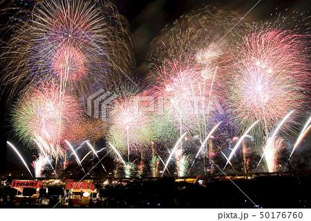 【茨城県】土浦の花火。土浦全国花火競技大会。 50176760