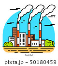 環境 汚染 工場のイラスト 50180459