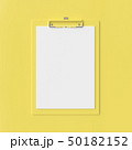 Clipboard mockup yellow color 50182152