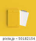 Clipboard mockup yellow color 50182154