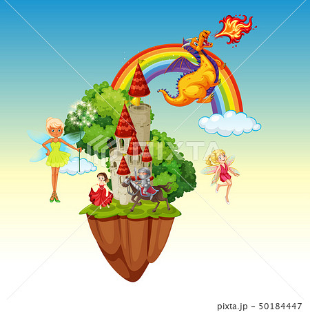 An isolated fairytale land 50184447