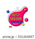 Banner with best seller writing 50184897