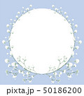 花 フローラル お花のイラスト 50186200