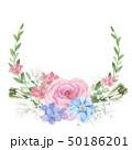 花 フローラル お花のイラスト 50186201