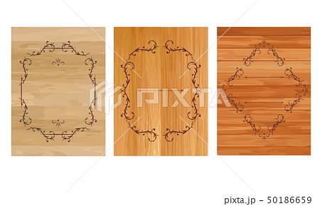 木の板 フレーム 50186659