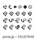 電話アイコン 50187646