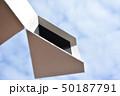 イメージ素材、箱、階段、雲、空、白、黒、立体、空間 50187791