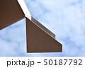 イメージ素材、箱、階段、雲、空、白、黒、立体、空間 50187792