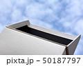イメージ素材、箱、階段、雲、空、白、黒、立体、空間 50187797