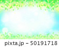 緑の葉 水玉,バブル,光のバックグラウンド 50191718