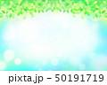 緑の葉 水玉,バブル,光のバックグラウンド 50191719