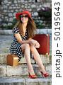 ファッション 女 女の人の写真 50195643