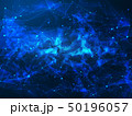 ネットワーク テクノロジー 青のイラスト 50196057