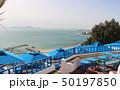 海 ビーチ コーヒーの写真 50197850