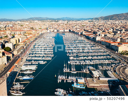 Old Port in Marseille, France 50207496