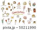 お菓子、氷菓、デザートなどのスイーツアイテムまとめ 50211990