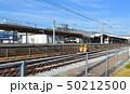 和気駅にて軌道点検風景 50212500
