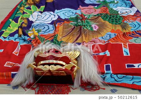 善通寺空海まつりの獅子舞の獅子 50212615