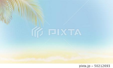 背景-南国-海-空-夏-ビーチ 50212693