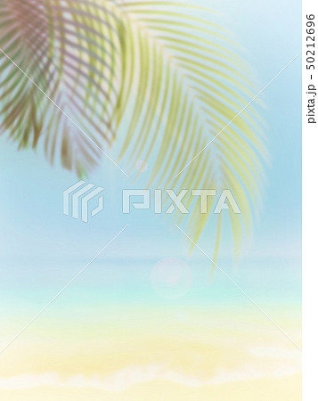 背景-南国-海-空-夏-ビーチ 50212696