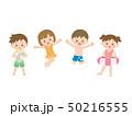 夏 子供 夏休みのイラスト 50216555