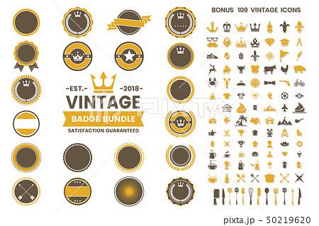 Vintage Retro Vector Logo for banner 50219620