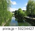 美観地区 倉敷川 川の写真 50234427