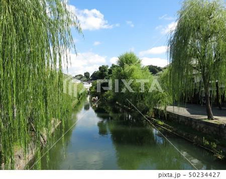 倉敷美観地区の風景(倉敷川畔) 50234427