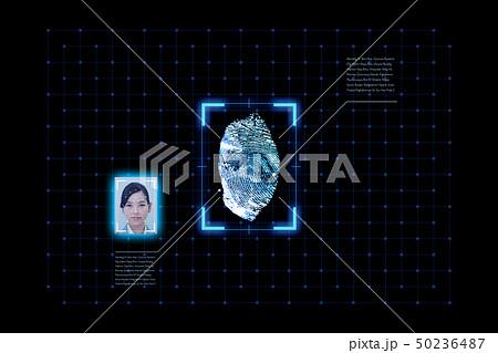 指紋認証シリーズ 50236487