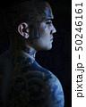 タトゥー 刺青 和彫りの青年 50246161