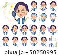 男性 眼鏡 ビューティーのイラスト 50250995