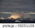 Mountain view beatiful view sunset in Antarctica 50251138