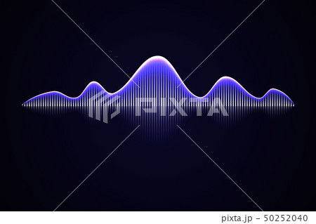 Abstract music sound wave, 50252040