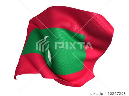 モルディブ 国旗