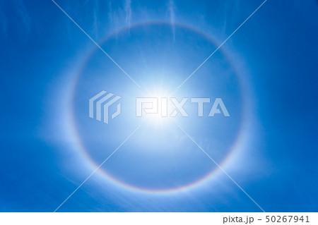 ハロ現象と環水平アーク 50267941