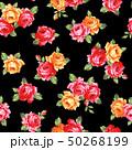 薔薇 花 花柄のイラスト 50268199