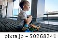 空港 飛行機 男の子の写真 50268241