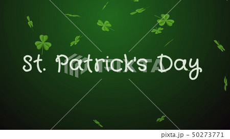 Saint Patrick's Day - a greeting card, wishes 50273771