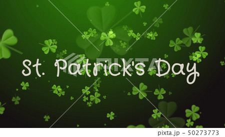Saint Patrick's Day - a greeting card, wishes 50273773