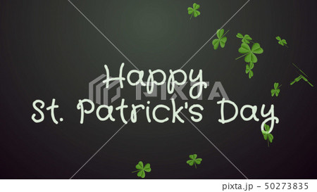 Happy Saint Patrick's Day - greeting card, wishes 50273835