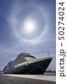 豪華客船クイーンエリザベスの上の「ハロ=暈」 50274024