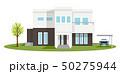 住宅 家 戸建てのイラスト 50275944