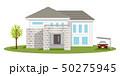 住宅 家 戸建てのイラスト 50275945