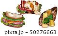 サンドイッチ サンドウィッチ ベジタブルのイラスト 50276663