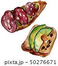 サンドイッチ サンドウィッチ ベジタブルのイラスト 50276671