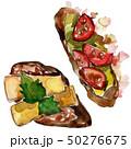 サンドイッチ サンドウィッチ ベジタブルのイラスト 50276675