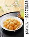 わらび餅 おやつ 甘いの写真 50276888